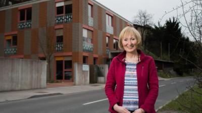 Tatjana Fink, vodja nekdanje Hiše hospica, zdaj Ljubhospica